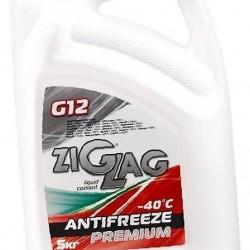 Антифриз ZigZag Premium G12 Красный 5кг